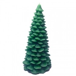 Pine Tree Beeswax Candle