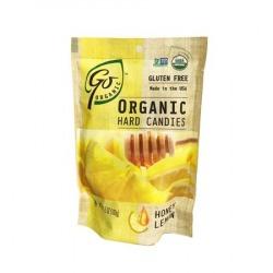 Organic Honey Lemon Candies 100g by Go Organic