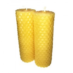 Handrolled Beeswax Candles...