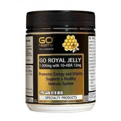 Royal Jelly Caps. 1000mg x 180 by Go Healthy