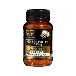 Powdered Bee Pollen 500mg x 180 by Superbee