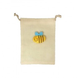 Bee Cotton Pouch [Do Not...