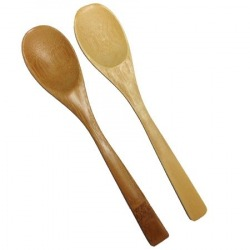 Bamboo Honey Spoons Pair