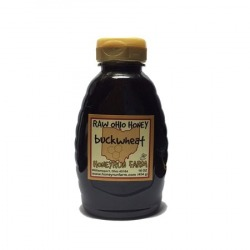Raw Buckwheat Honey 16oz (Approx. 453g) Squeeze Bottle